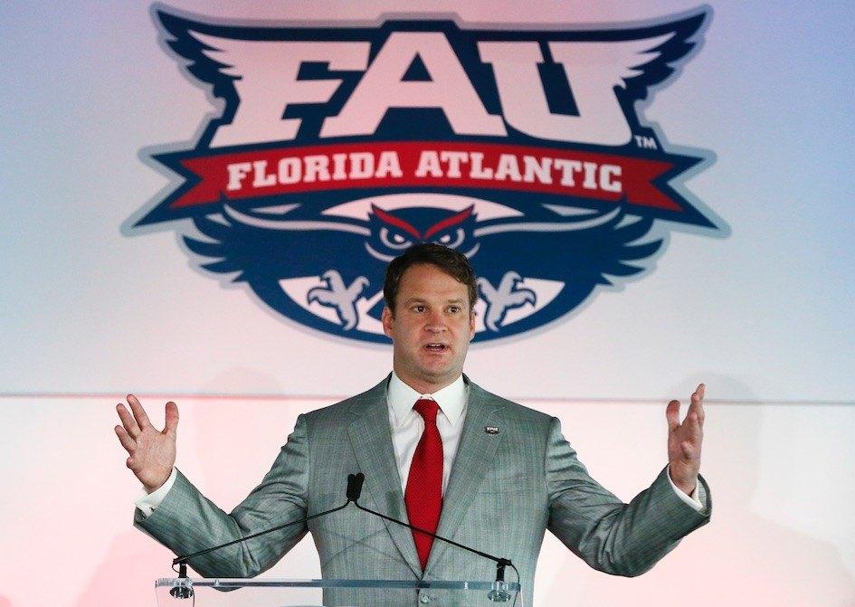 Florida Atlantic coach Lane Kiffin