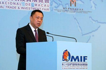 Lionel Leong Macau 2018 casino projections