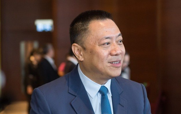 Macau's Secretary for Economy and Finance Lionel Leong Vai Tac