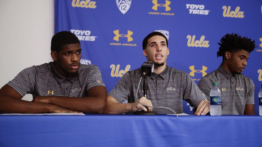 UCLA basketball players