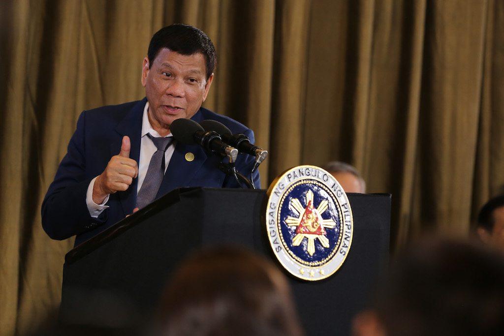 PAGCOR Rodrigo Duterte casino gambling