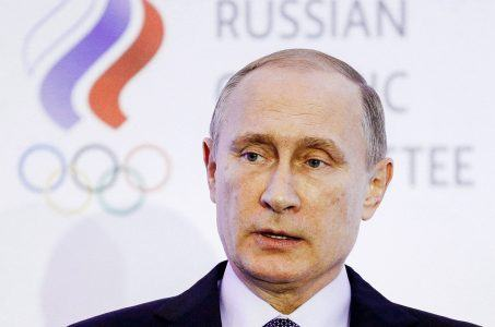 Russia Winter Olympics banned Putin
