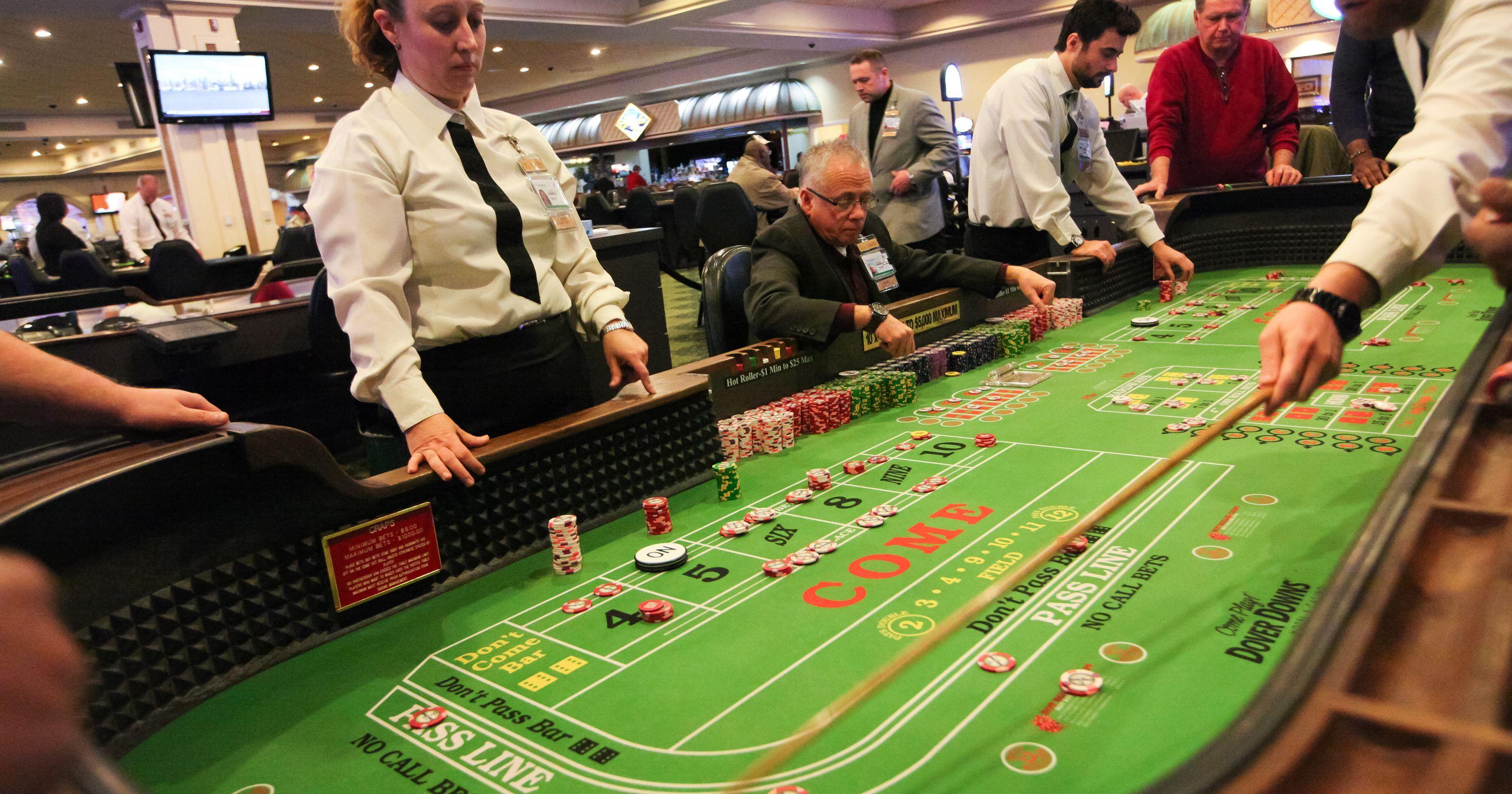 Dover Downs casino stock price