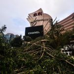 mother nature casinos damage Macau