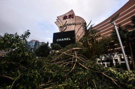 mother nature casinos damage Macau