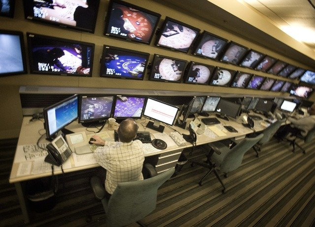 Las Vegas surveillance rooms