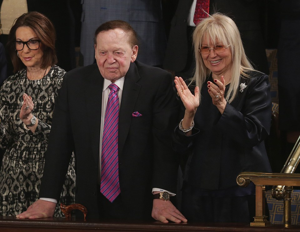 gaming icons Sheldon Adelson Las Vegas