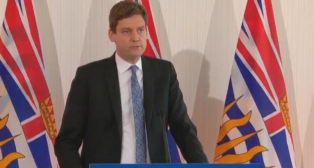 BC Attorney General David Eby British Columbia casinos anti-money laundering