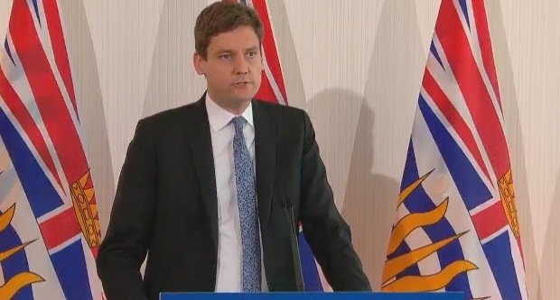 BC Attorney General David Eby British Columbia casinos anti-money laundering