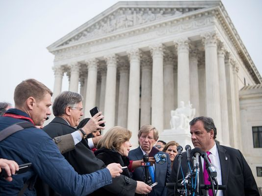 Chris Christie New Jersey sports betting SCOTUS decision