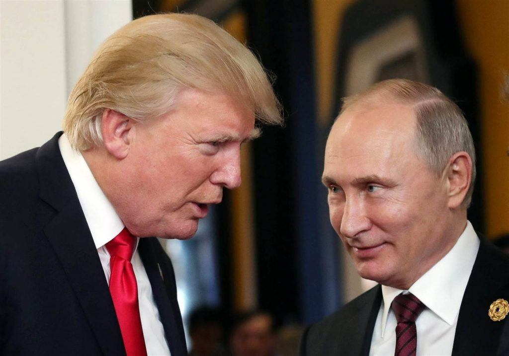 Paddy Power Donald Trump Vladimir Putin prop bets