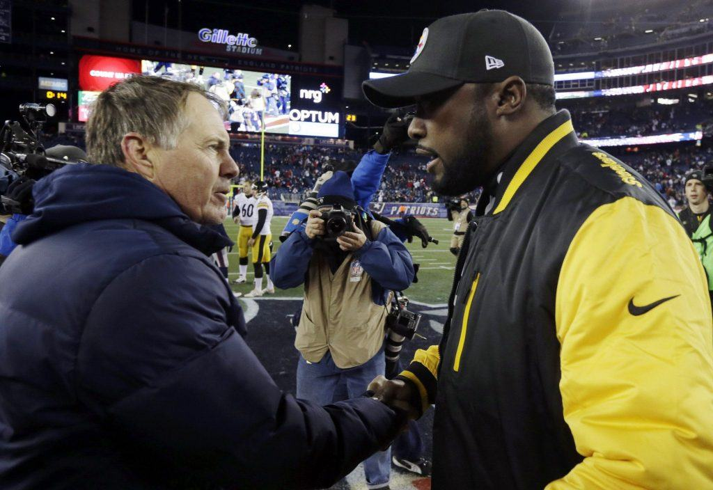 Mike Tomlin Bill Belichick