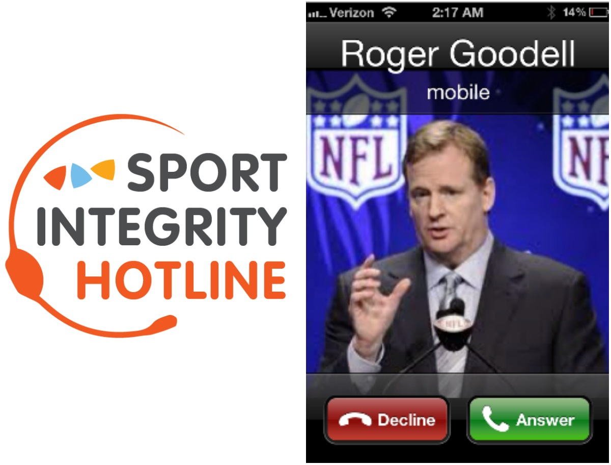 sports integrity hotline NFL Roger Goodell