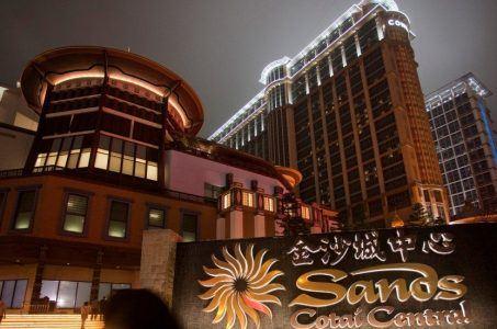 Macau casino win Sands Cotai
