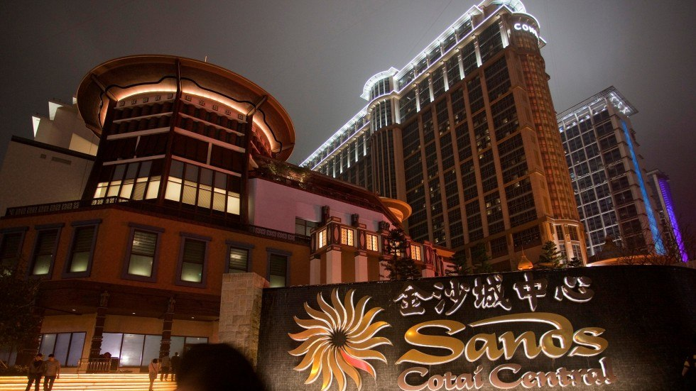 Macau casino win Sands Cotai