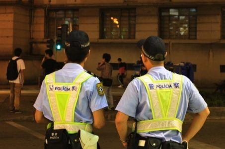 """Macau police prepare for """"Operation Wold Capture"""" at the Galaxy Macau"""