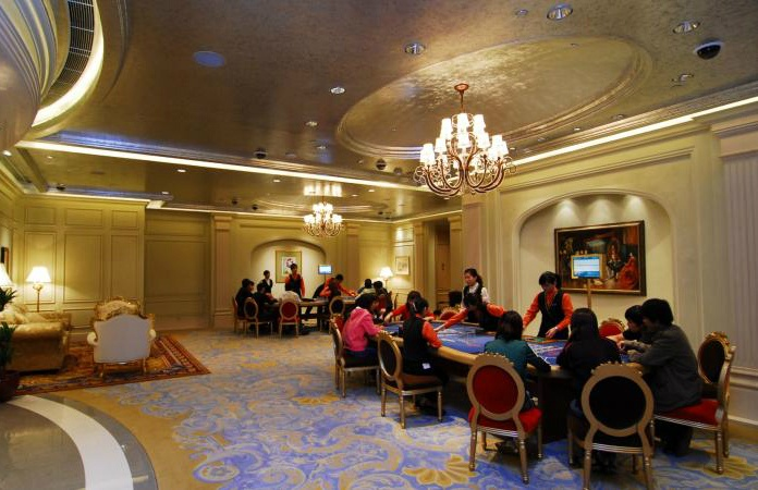 Macau VIP gaming revenue