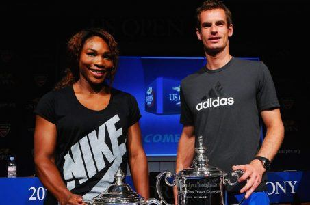 Serena Williams and Andy Murray