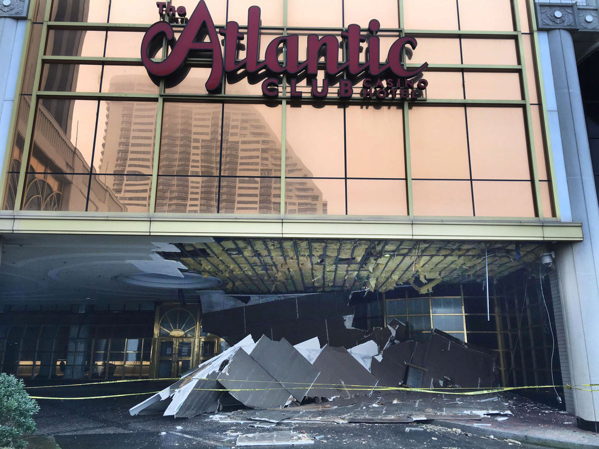 Atlantic Club debris Atlantic City