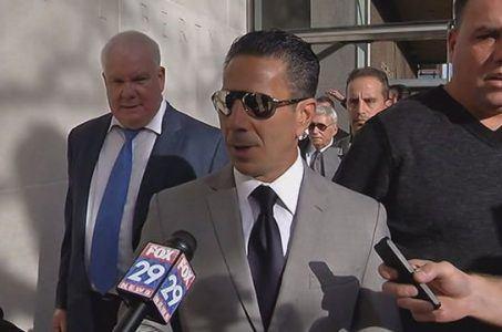 "Skinny"" Joey Merlino arrives in court"