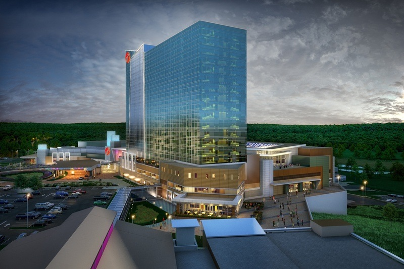 Rendering of Resorts World Catskills casino to open Feb. 8