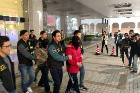Wynn Macau casino heist arrests