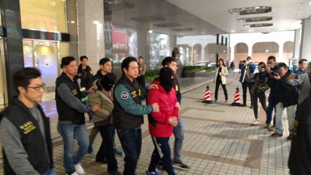 Wynn Macau casino heist arrests