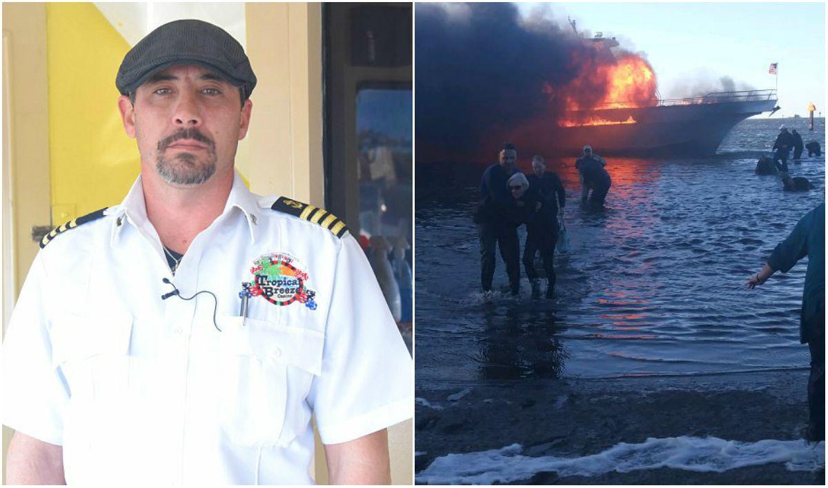Florida casino shuttle boat fire