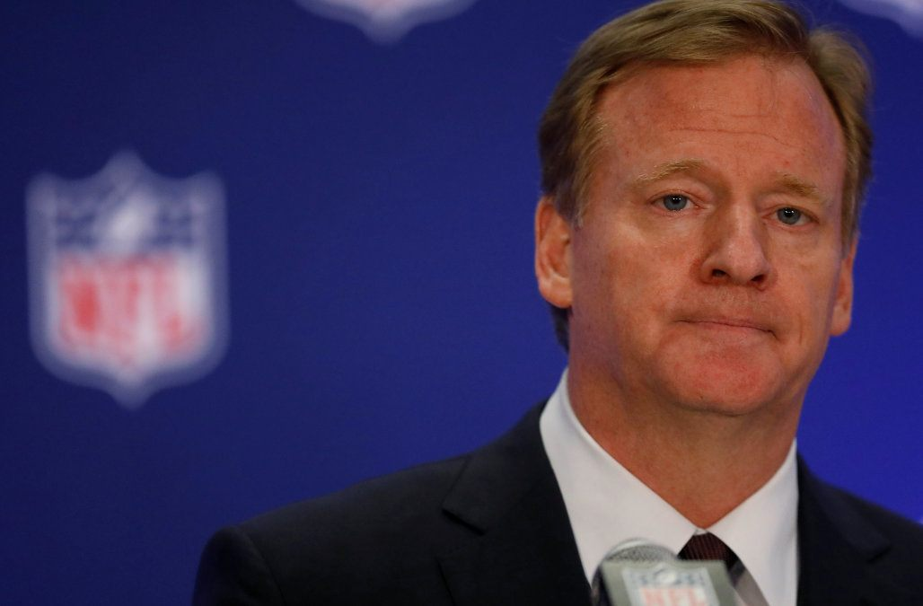 Super Bowl betting Roger Goodell