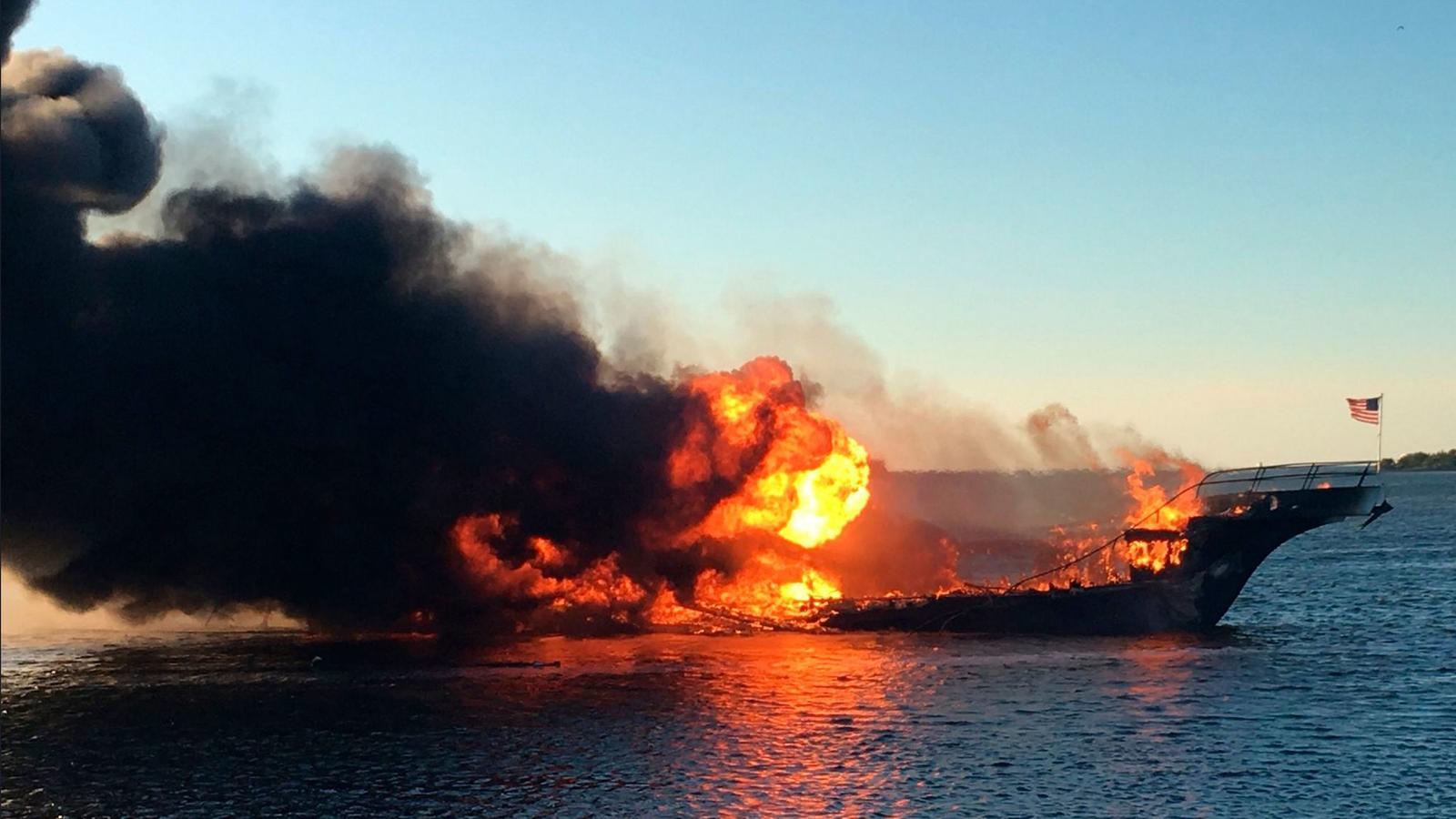 casino boat shuttle fire Florida