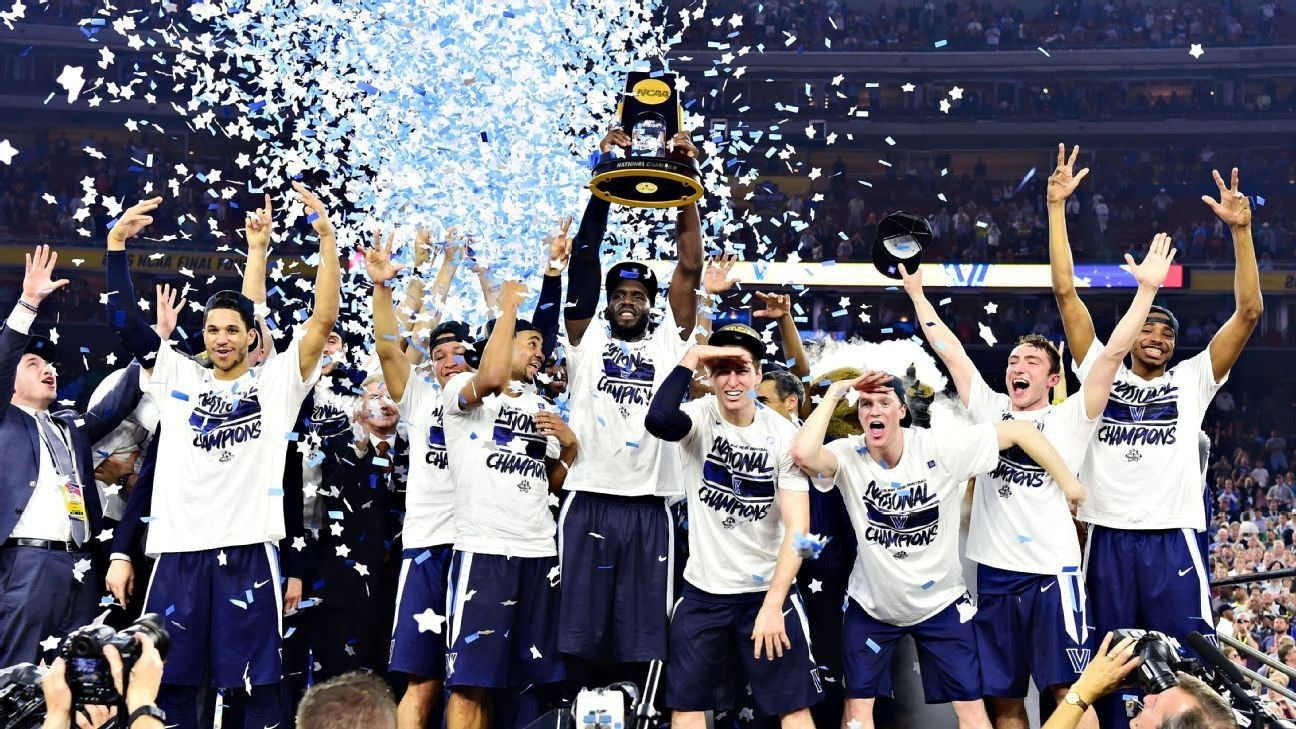 Villanova No. 1 in AP Poll, Improves Odds to Win NCAA Championship