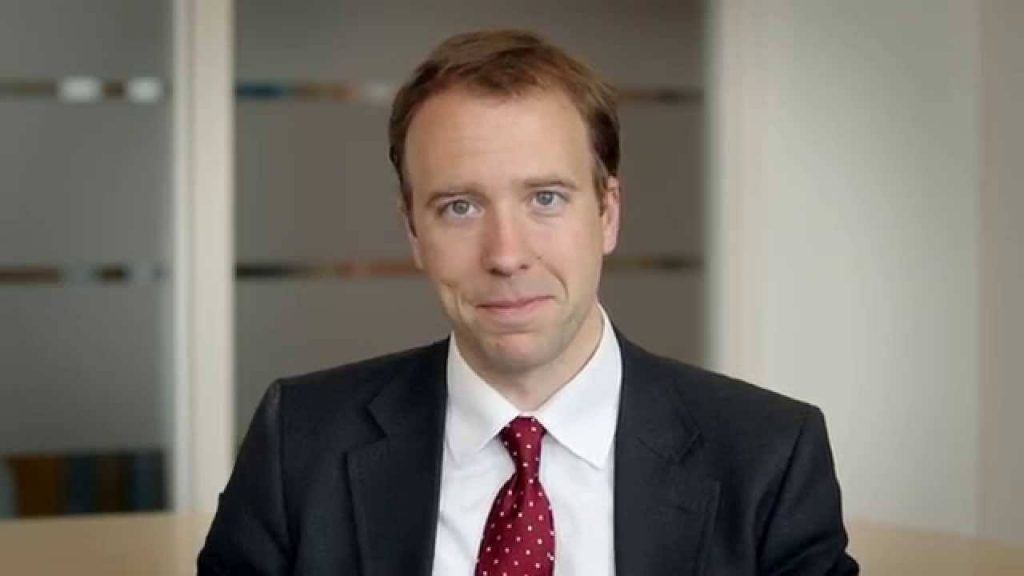 UK Minister for Culture Media and Sport, Nick Hancock