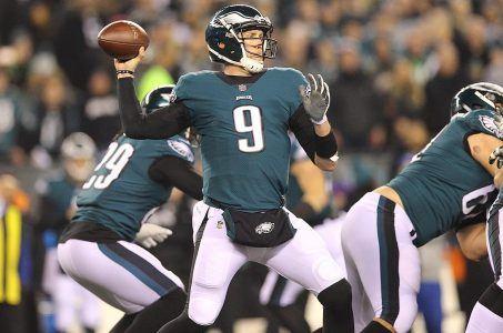 Super Bowl odds Eagles Patriots