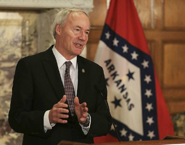 Arkansas casinos Asa Hutchinson