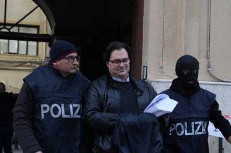 Benedetto Bacchi arrested by Italian police