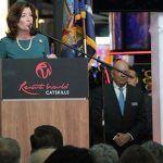 New York State Lieutenant Governor Kathy Hochul opens Resorts World Catskills