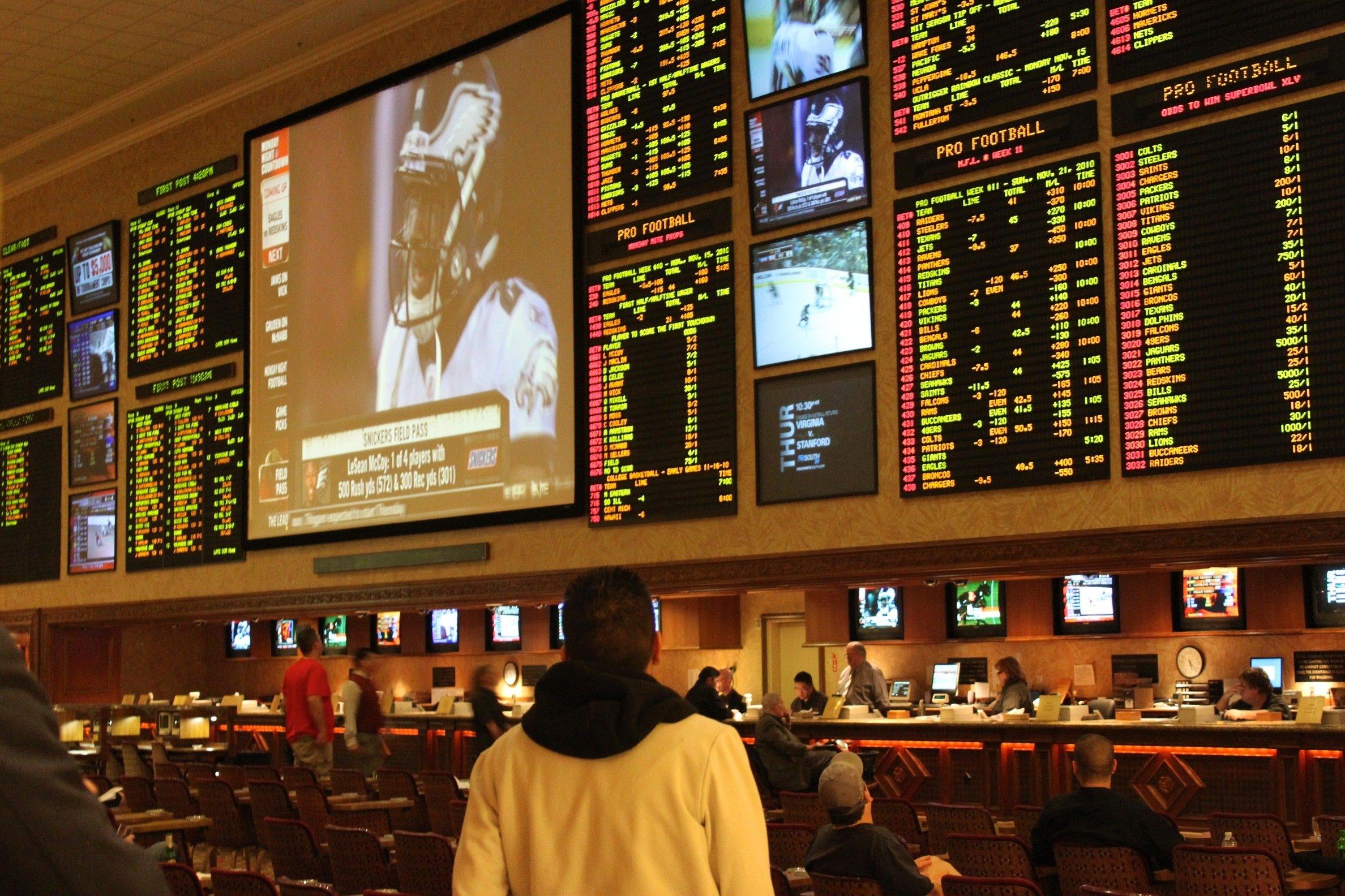 Sports betting mutual funds
