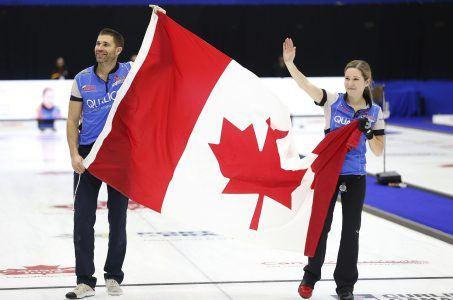 Olympic curling Canada