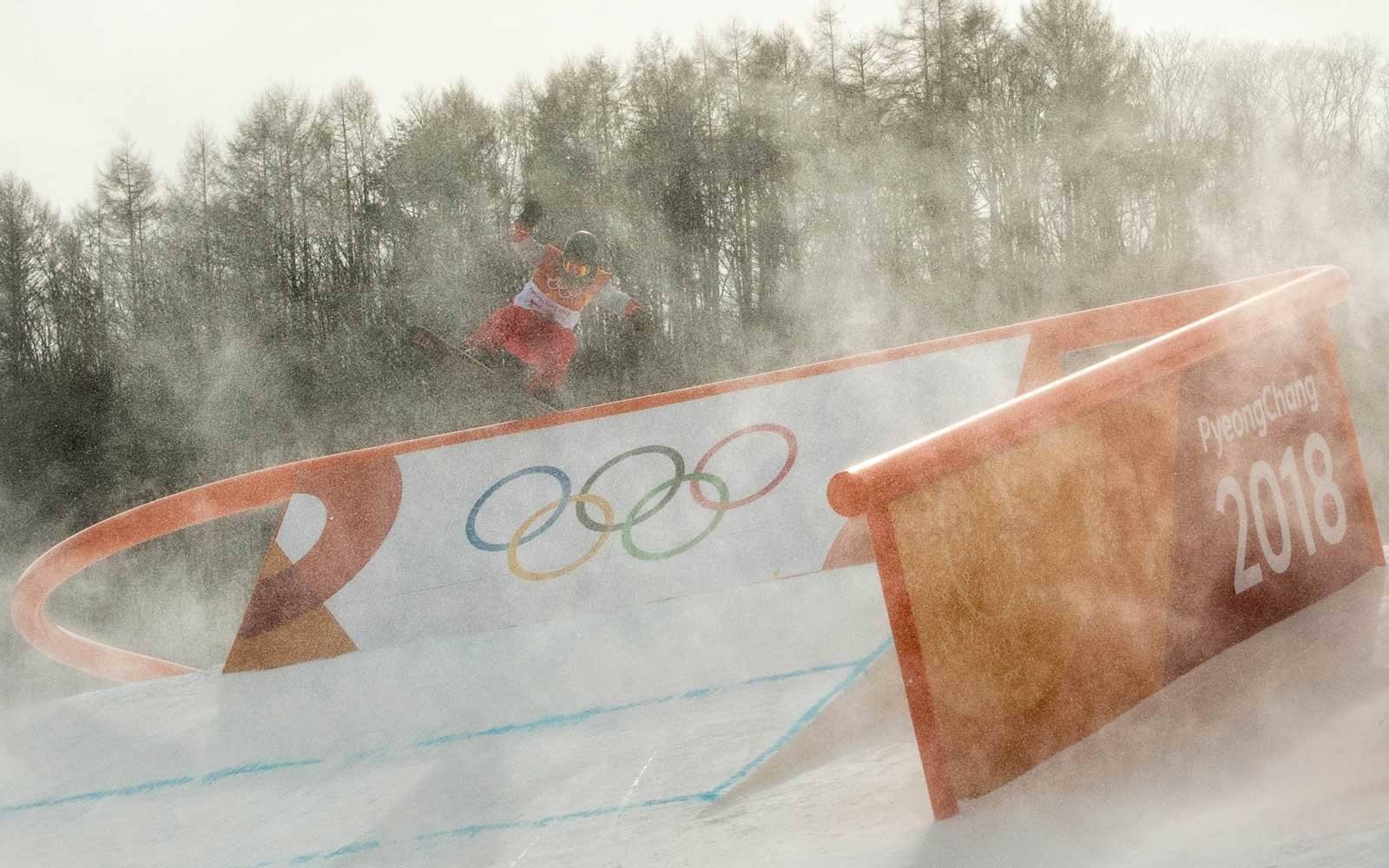 Winter Olympics winds