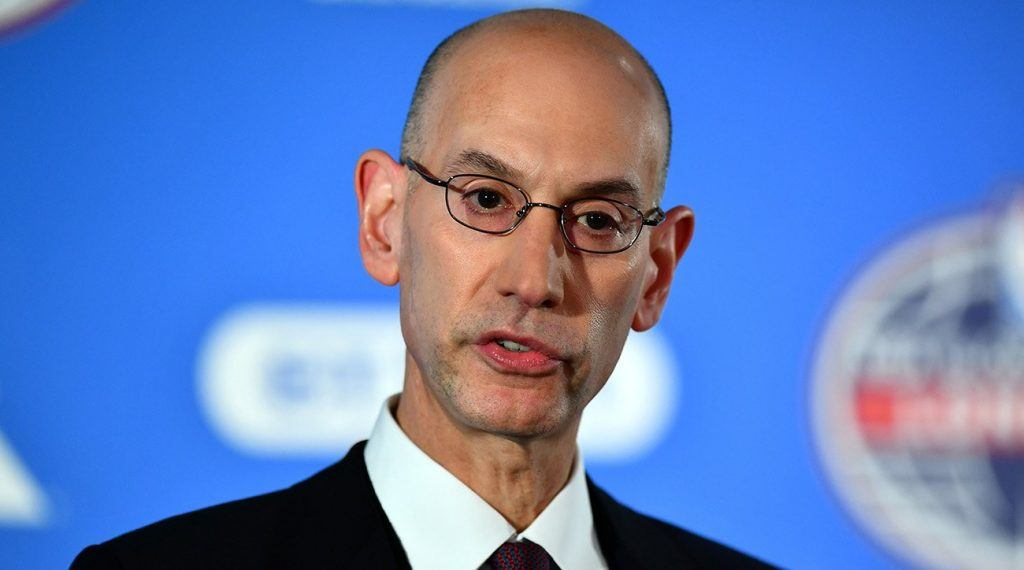 NBA Commissioner Pushes for Fee on Sports Betting Amid ...