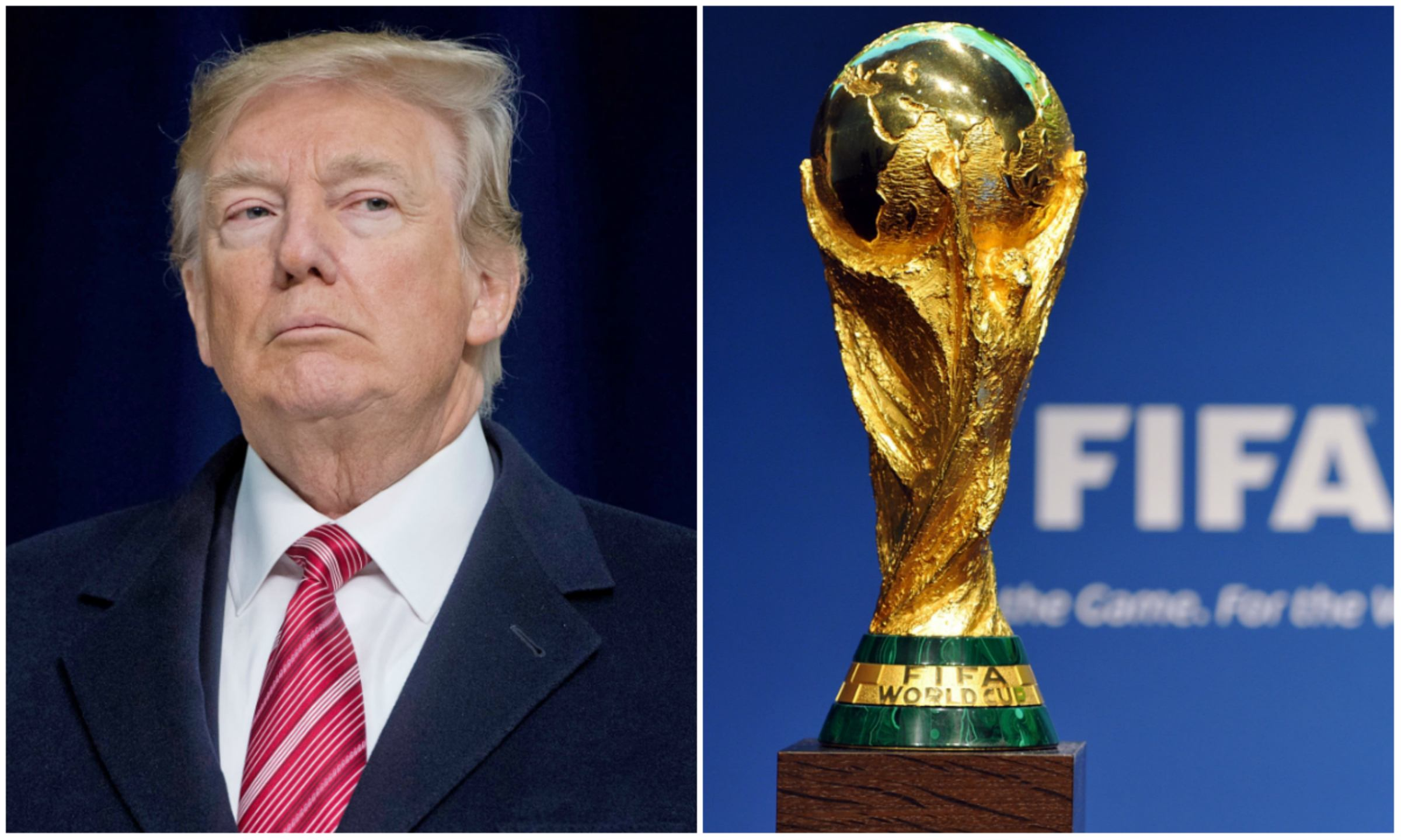 2026 World Cup host Donald Trump