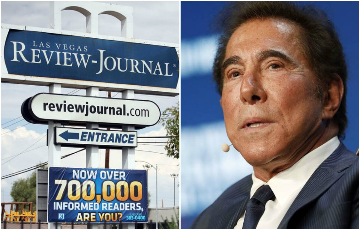 Las Vegas Review-Journal Steve Wynn