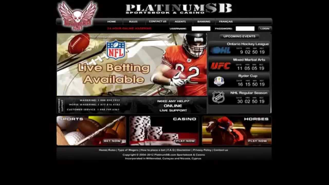 Platinum Sports Book