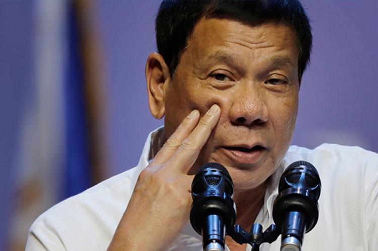 Philippine president Rodrigo Duterte orders freeze on new casino licenses.