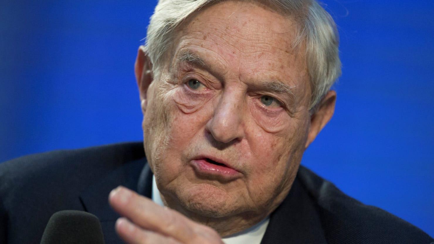Caesars investor George Soros slams Facebook for being like a casino