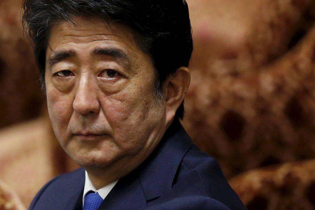 Japan legislature Shinzo Abe