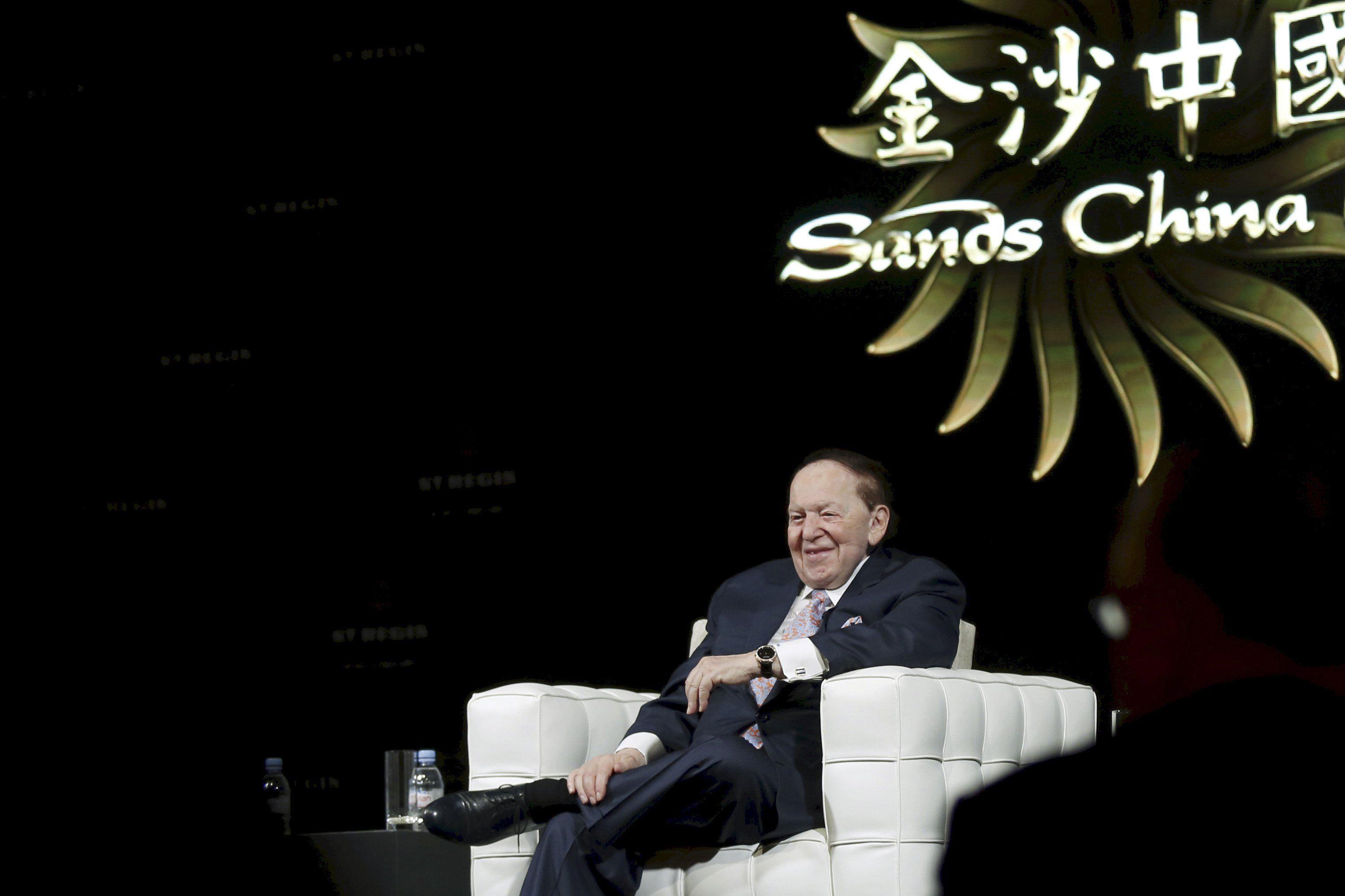 Las Vegas Sands Macau Sheldon Adelson