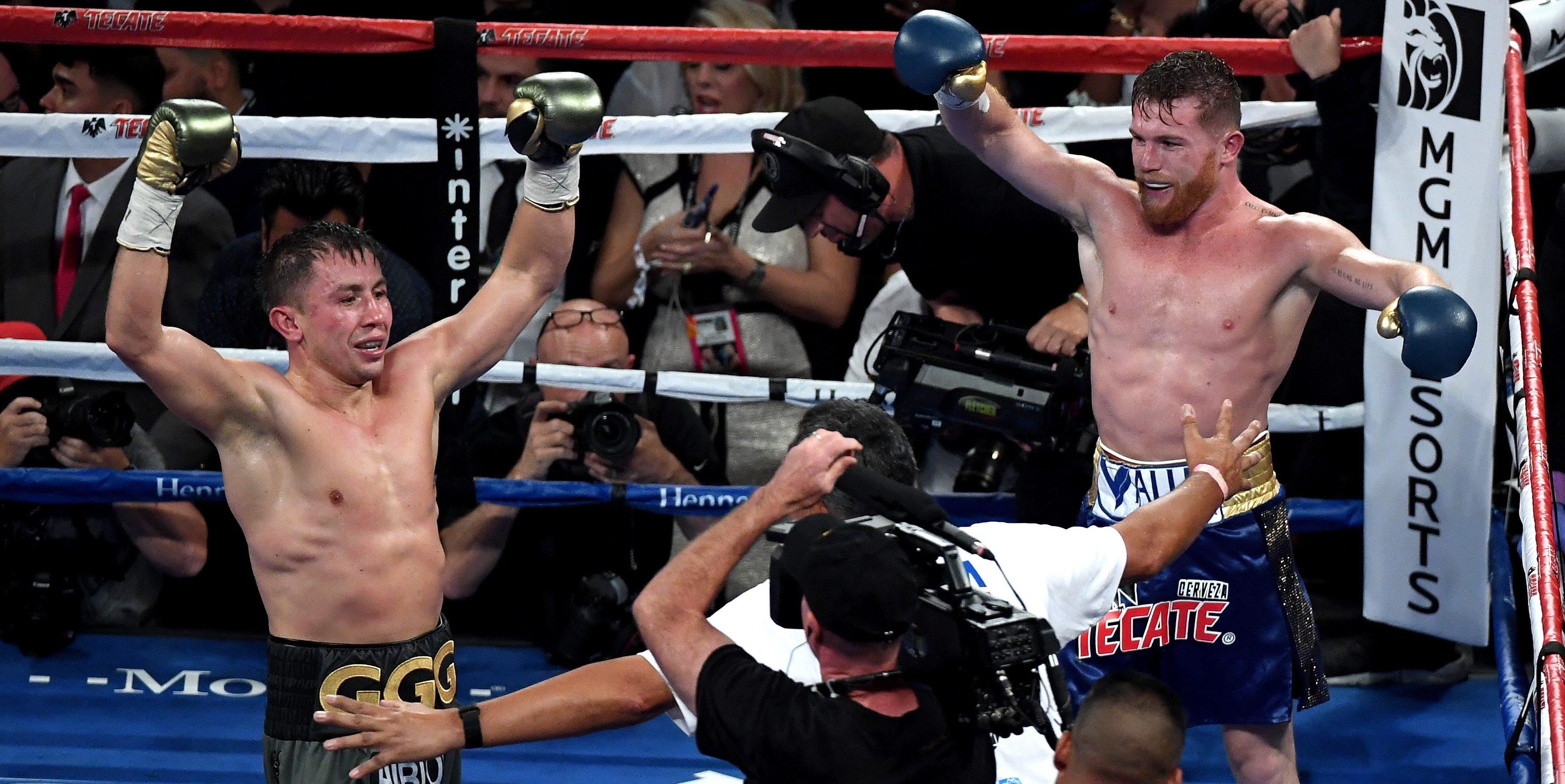 GGG Golovkin Canelo Alvarez fight odds
