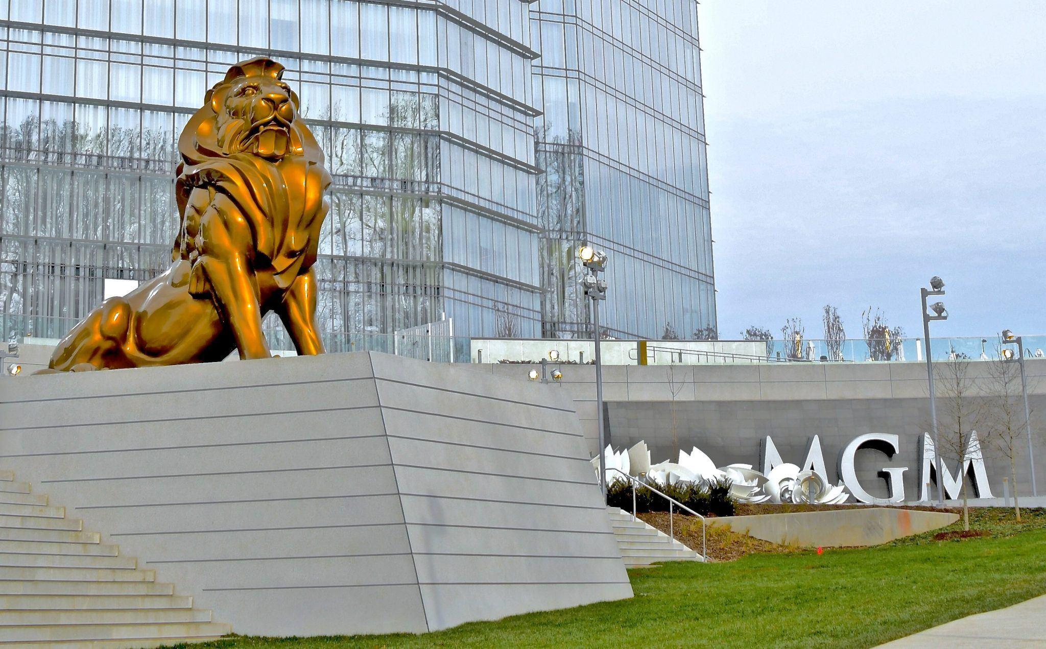 Maryland casinos gross revenue MGM