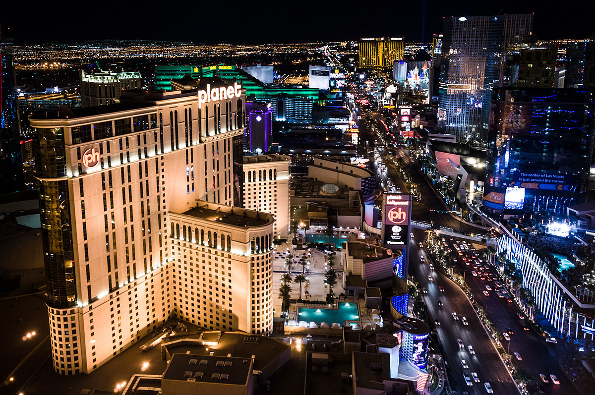 Las Vegas Strip January 2018 revenue